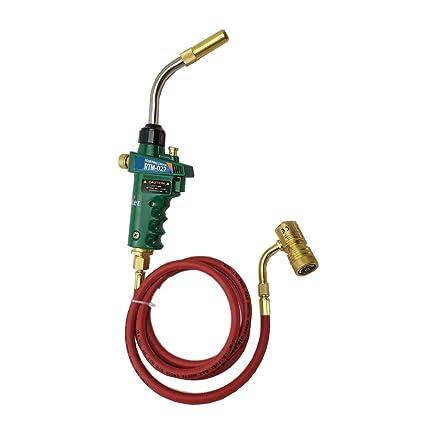 Antorcha de soldadura profesional del gas de Mapp, arma de soldadura fuerte del remolino para