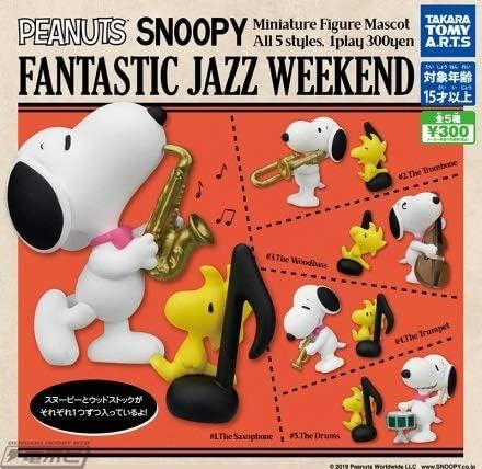 [해외]스 누 피 SNOOPY FANTASTIC JAZZ WEEKEND [전 5 종 세트 (완전 광고 / SNOOPY Snoopy FANTASTIC JAZZ WEEKEND [All 5 Sets (Full Comp
