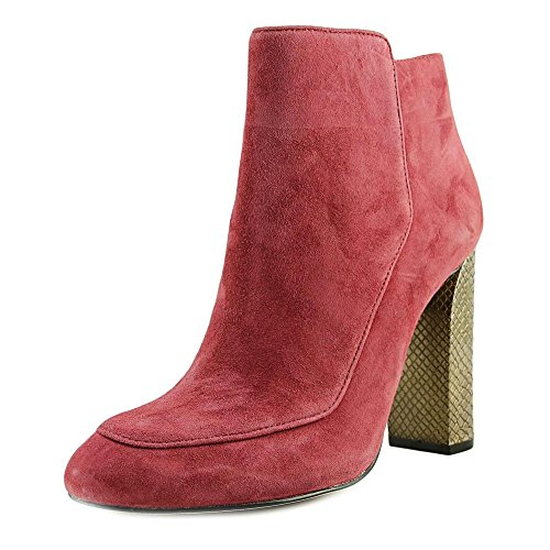 Calvin B077C19QCP Klein Jaslina Women US 7 Red Ankle Boot B077C19QCP Calvin Parent f9e850