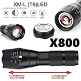 Willsa Useful X800 Military Style LED Tactical Flashlight 5000 Lumens