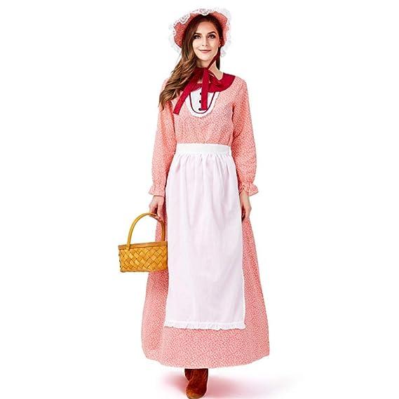 YZstore Disfraz para Mujer Chica Vestido Princesa Cosplay ...