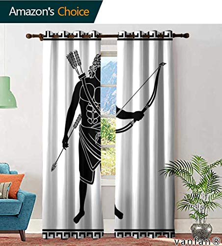 - LQQBSTORAGE Custom Pattern Curtains Insulated Thermal Navigator Stock, Curtains and Drapes for Living Room, W96 x L108 Inch, (2 Panels)