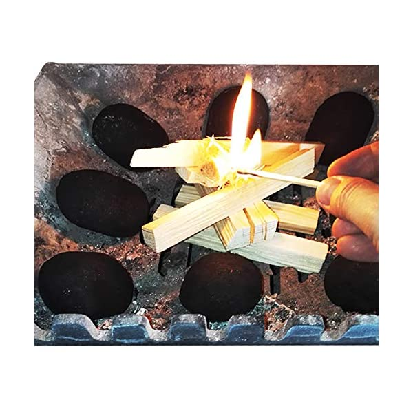 Sacco da 3,5 kg di legna da innesco essiccata in fornace, per accendere fuochi di ogni tipo, inclusi falò, stufe… 2 spesavip