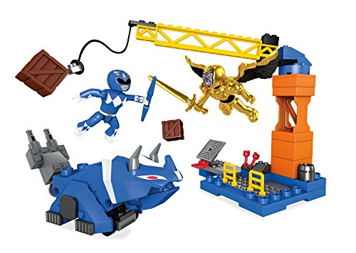 Mega Construx Mighty Morphin Power Rangers Blue Ranger Battle
