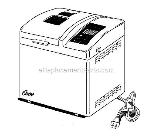 Sunbeam-Oster Hot & Fresh Automatic Breadmaker 4810-1