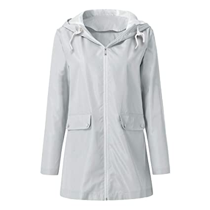 Amazon.com: Women Rain Jackets Lightweight Windbreaker ...