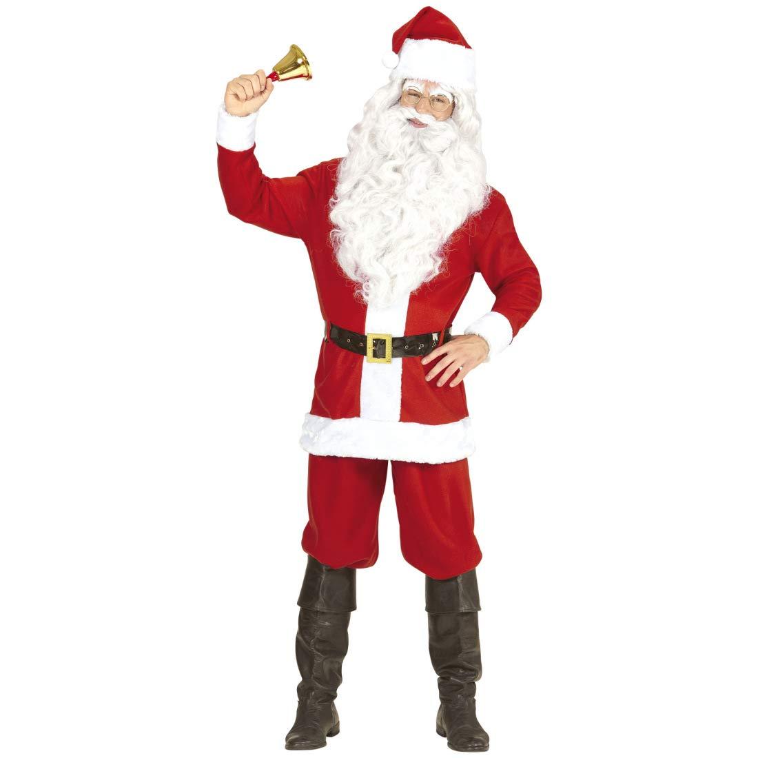 NET TOYS Atractivo Disfraz de Papá Noel para Hombre   Rojo ...