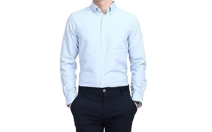Amazon.com: Camisas de vestir para hombre, estilo informal ...