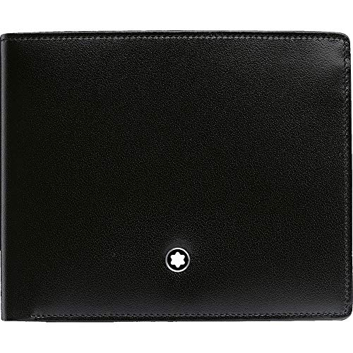 MONTBLANC Men's 6cc Wallet with Money Clip, Black from MONTBLANC
