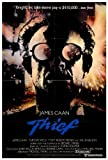 Thief Poster Movie 27x40 James Caan Tuesday Weld Willie Nelson