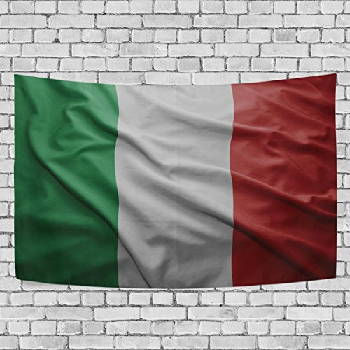 super3Dprinted Italy Flag Tapestry, Wall Hanging Art Home Decoration for Bedroom Living Kids Girls Boys Room Dorm Accessories, 60X51 (Italy Woven Jacket)