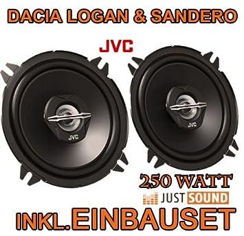 Dacia Logan + Sandero - Lautsprecher - JVC CS-J520: Amazon.es: Electrónica