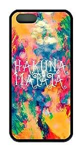 Hakuna Matata Theme Iphone 5 5s Case TPU Material
