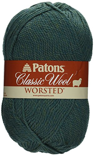 Patons Classic Wool Yarn, Jade Heather