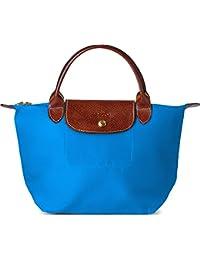 Longchamp Le Pliage Top Handle Bag, Medium, Ultra Marine