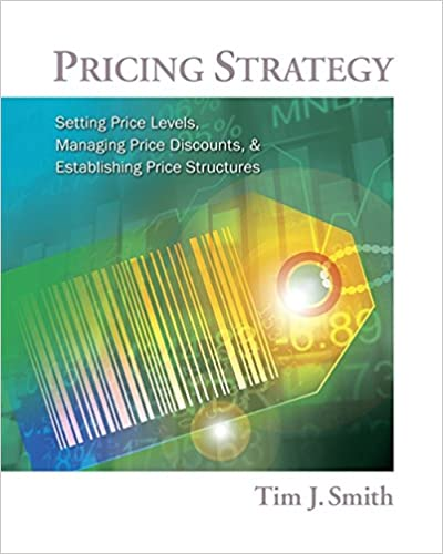 pricing strategy setting price levels managing price discounts and