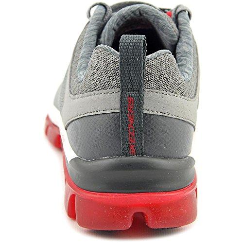 Skechers Skech Aire 2.0 Quicktimes Hombres Zapatilla De Deporte De Los Zapatos De La Aptitud De Color Gris Lgrd Precio mayorista de venta 825wgkTN