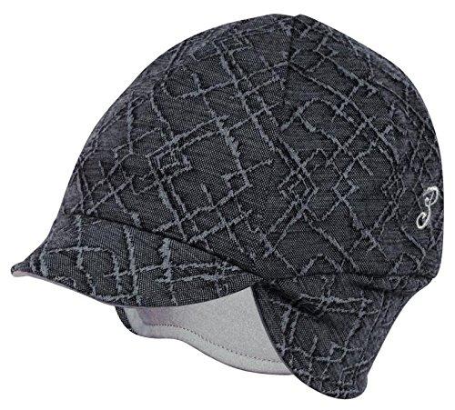 Unbekannt Pace wendbar Merino Wolle Hat
