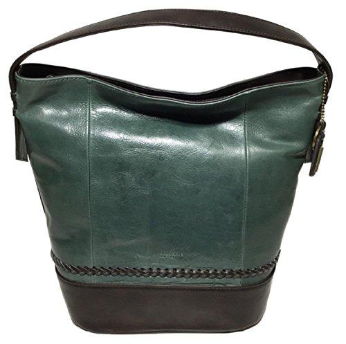 Tignanello Classic Boho Vintage Leather Bucket Bag, - Leather Brown Tignanello