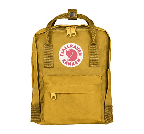 Fjallraven Unisex Kanken Mini Backpack, Ochre, OS
