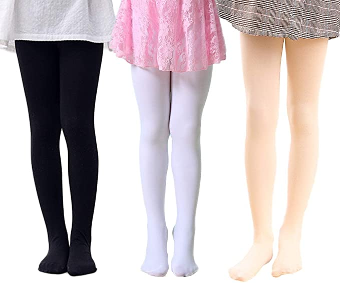 Pack of 8 -Multiple Colors-7-8 Years Indistar Big Girls Cotton Full Ankle Length Solid Leggings