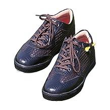 KARAKARA Spike-less Golf Shoes, KR-402, 5 Colors, (Brown, White, Snake Burgundy, Snake White, Black) 250 -280mm, Man & Women