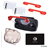 Essential Drone Protection Kit for DJI Mavic Pro - Shields the Camera and the Remote Control Screen - Locks the Position of the Gimbal, Joysticks and Propeller Blades - Guards Expensive Parts
