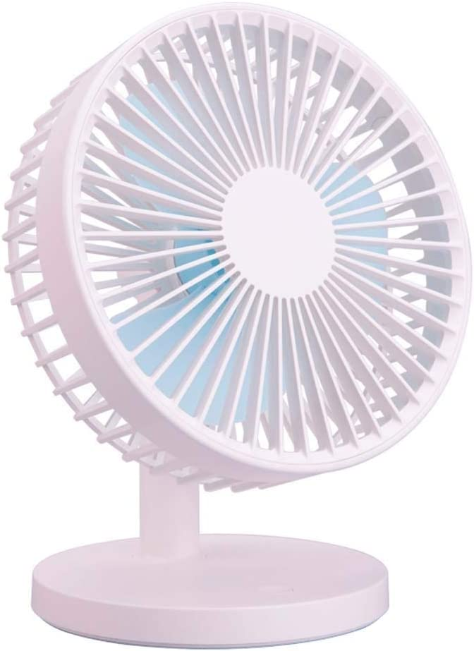 Perfect Portable Personal Fan for Desktop Whisper Quiet Mini USB Desk Fan with Updated Strong Airflow Adjustable Tilt Angle for Better Cooling Mini Cooling Fan Small Desktop Air Conditioning Fan