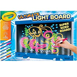 Crayola Ultimate Light Board Blue, Gift for Kids, Ages 6, 7, 8, 9