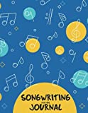 Songwriting Journal for kids: Music Lyric Journal - 8.5'x11' With 108 Pages - Lined Ruled Journal For Writing and Inspiration Note - Notebook For Gifts: Songwriting Journal: Volume 1 (Ms.Music Sheet)