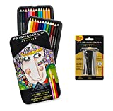 Prismacolor Premier Colored Pencils, Colored Pencils and Sharpener AgyyXA, 4Pack (24 Count)