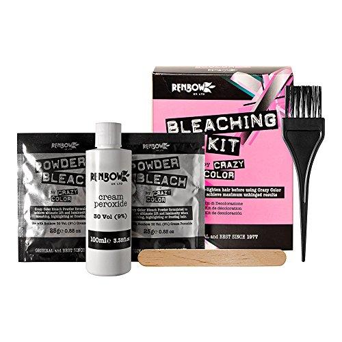 Crazy Colour Bleaching Kit (To Pre-Lighten Hair Before Using Crazy Colour...