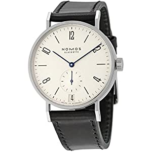 Nomos Tangomat Datum White Dial Stainless Steel Mens Watch 602