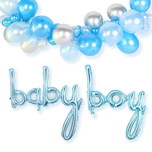 Baby Shower Balloon Arch Kit - Baby Boy