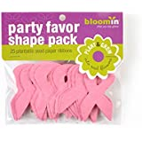 "Bloomin Seed Paper Shapes Packs - Ribbon Shapes - 25 Shapes Per Pack - 1.4x2.4"" {Pink}"