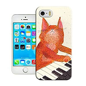 LarryToliver Customizable Cats and tigers iphone 5/5s Case Cover Best Gift Choice for Customizable