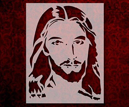 Jesus Christ Face Christmas 8.5