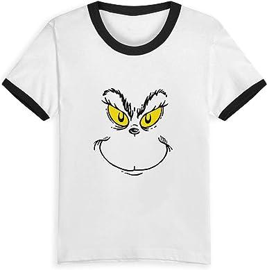 Queen Elena Grinch Face, 2-6Y Cartoon Print Boys T Shirt ...