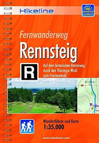 Download Rennsteig Fernwanderweg: BIKEWF.RENN ebook