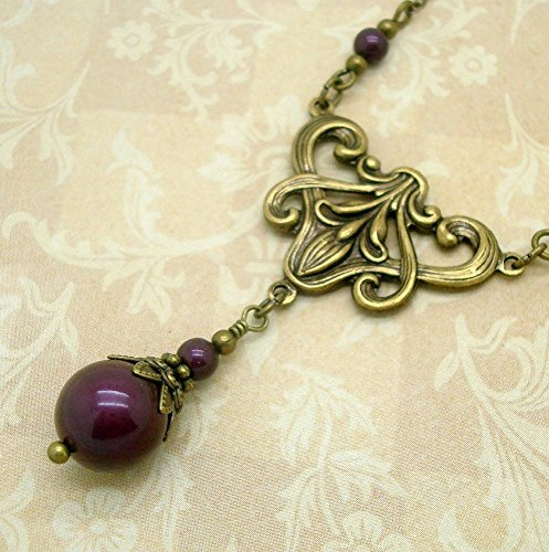 Neo Victorian Necklace, Handmade