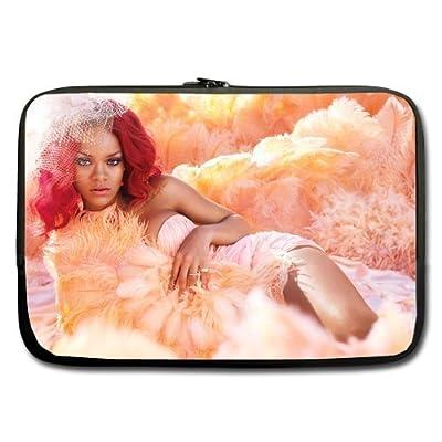 Rihanna De Cabelo Vermelho Custom computer Sleeve Laptop sleeve For Macbook Pro 17inch (Twin Sides)