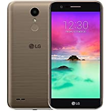 """LG K10 M250F 2017 4G LTE Octa-Core 1.5GHz 5.3"""" 16GB 2GB RAM 13 MP Single SIM Android 7.0 Factory Unlocked Gold"""