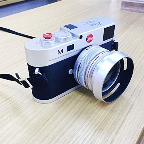 Color : Silver Non-Working Dummy DSLR Camera Model Photo Studio Props for Leica M Hood Lens Durable