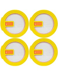 Want Pyrex 7201-NLC Round Yellow 4 Cup Vented No-Leak Lid for 7201 Bowl (4-Pack) deal