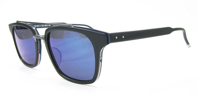 cae84df930c Thom Browne Sunglasses TB-803 TB-803-C-NVY-GLD  Amazon.co.uk  Clothing