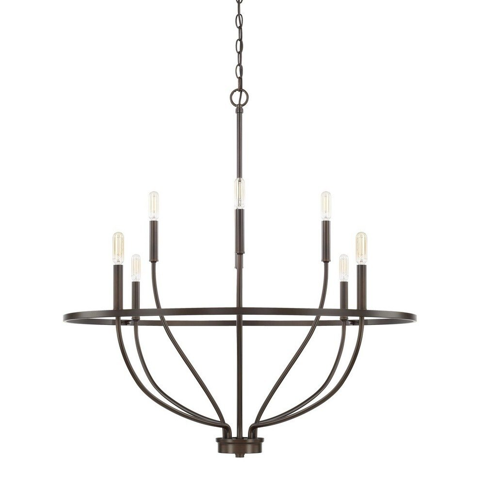 Amazon.com: Capital Lighting 428581BZ Homeplace/Greyson ...