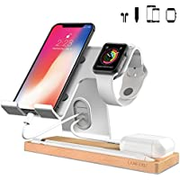 LAMEEKU Cell Phone Stand for Apple (Silver)