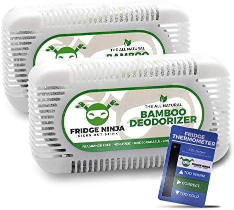 Fridge Ninja Eliminador de Olores para Nevera, Desodorizante y ...