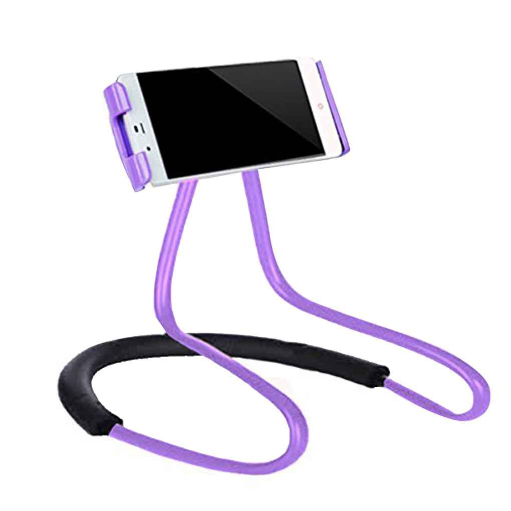 Ausschnitt Hang Stil Telefon-Halter faule Person Biegsame 360-Grad-Drehung beweglicher Standplatz Halter Einfachen Selfie-Sticks Regard Regard Natral AmzRegard1901