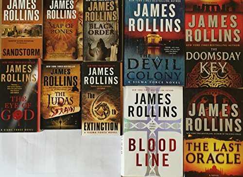Sigma Force Series Set by James Rollins 10 Book (Force Set)